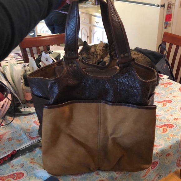 14f1ee0ddaade Orvis leather picnic bag. M_5abff65c9d20f0fb52028e59. Other Bags ...